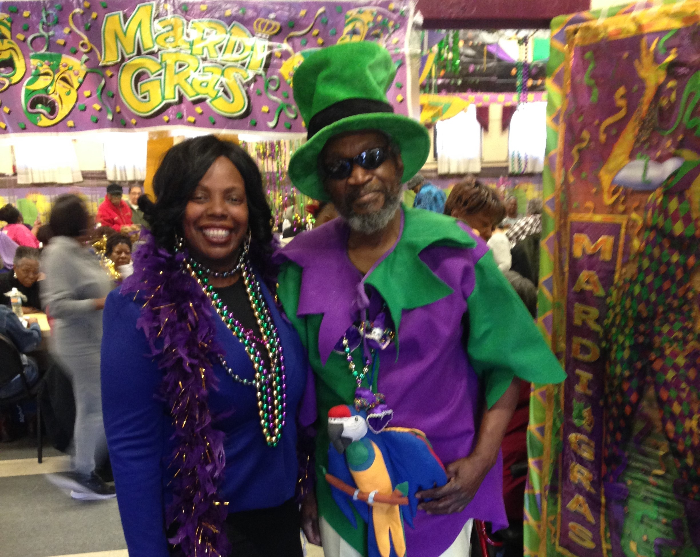 new orleans comes to brooklyn at tilden center s mardi gras event new york for seniors. Black Bedroom Furniture Sets. Home Design Ideas