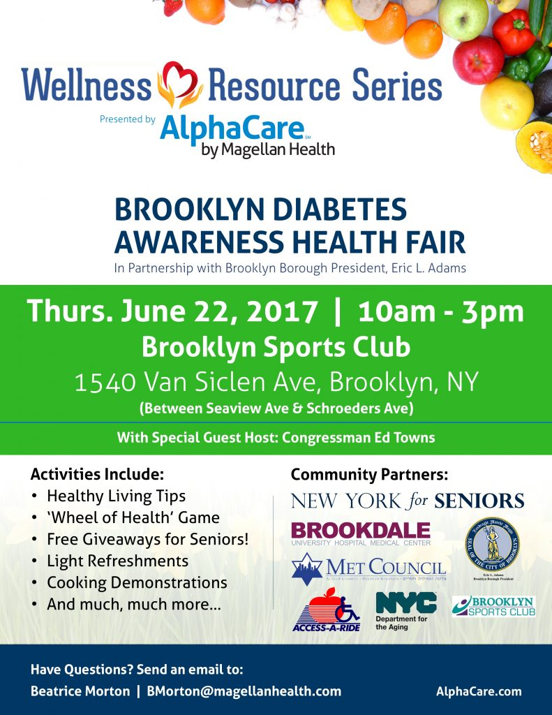 June 22nd Wellness Resource Series Event Flyer
