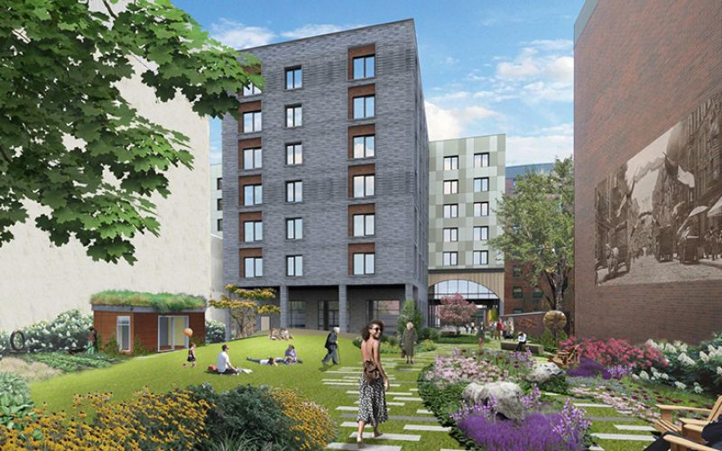 Nyc has development plans to create 121 deeply affordable for Seniors house