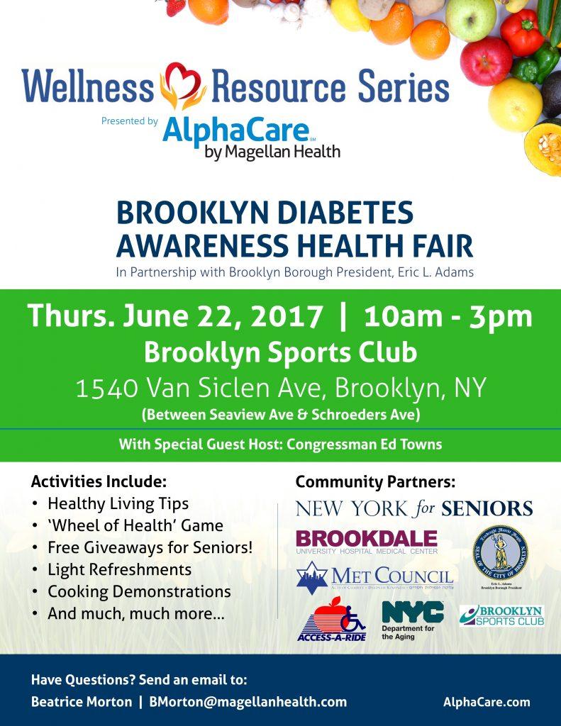 June 22nd Wellness Resource Series Event Flyer